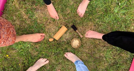 Cercle de pieds